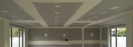 Stopping Plasterboard